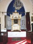 The interior of the Armenian Church, manchester
