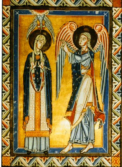 The Priesthood of Mary, The Annunciation: Mary's Ordination? dans immagini sacre mary-priest-2