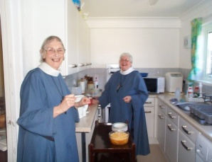 Sr Pauline CHN (n the foreground)