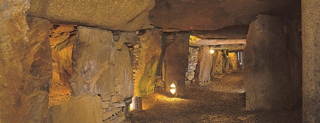 Inside the Neolithic Dolmen
