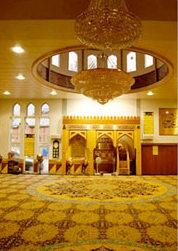 Main Prayer Area Victoria Park Mosque