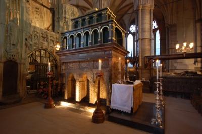 St Edward's Shrine Westminster Abbey