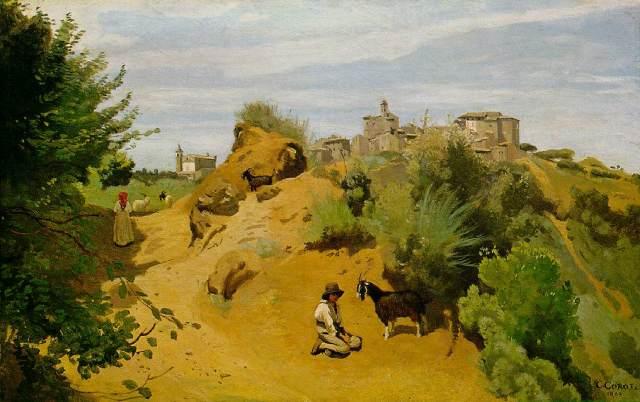 corot_the_goat_herd_of_genzano_1843