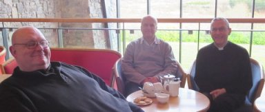 Three priests and Afternoon Tea at Knock