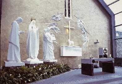 The Apparitions Chapel at Knock