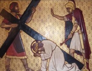 Jesus Falls Again under the Cross