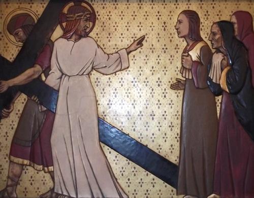 Jesus Speaks to the Weeping Women
