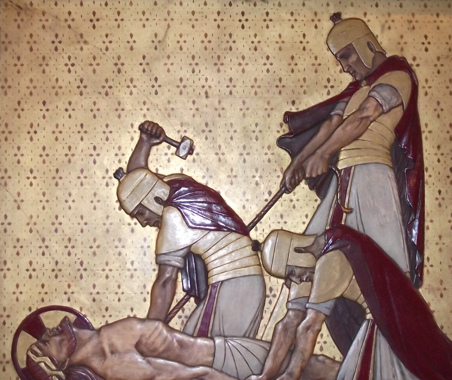 Eleventh Station – Jesus Nailed to the Cross for us | St ...