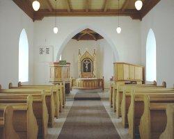 Church interior June 2014