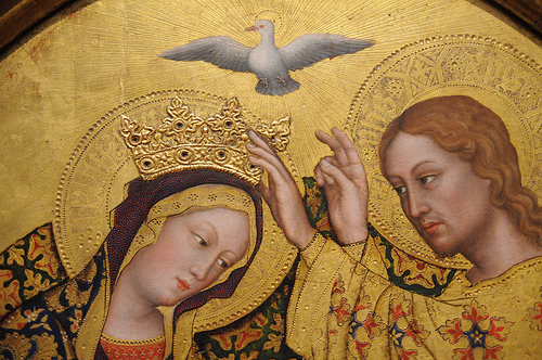 The Coronation of Our Lady, Gentile da Fabriano, Italian 1420