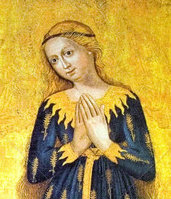 Madonna of the Wheat (detail) c. 1450