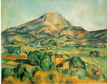 Paul Cezanne: Le Montagne Ste Victoire 1885