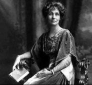 Mrs Pankhurst, former St Chrysostoms School Governor