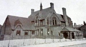 The former St Chrysostom's School