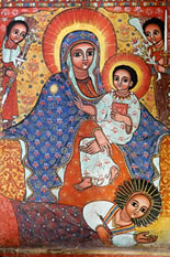Virgin and Child 18th Century Ethiopia