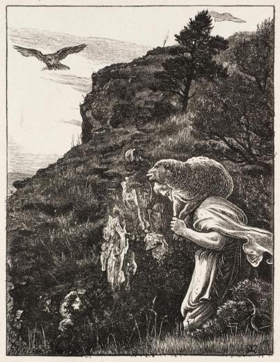 The Lost Sheep 1864 Sir John Everett Millais
