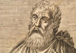 19th century engraving of Justin Martyr