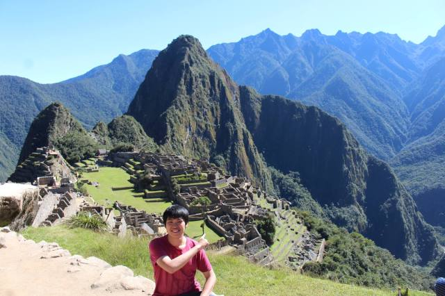 Kevin at Machu Picchu What an amazing view!