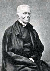 A rare photograph of Keble in old age