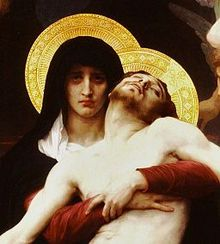 The image of Mary which spoke most to me: Bourguereau 'Pieta' 1876