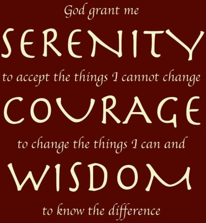 #Serenity prayer u u