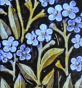 Detail from the Hugh Oldham window