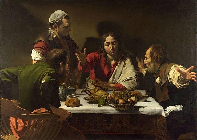 Caravaggio,Supper_at_Emmaus