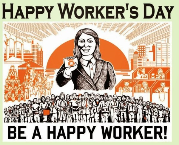 Be a happy worker