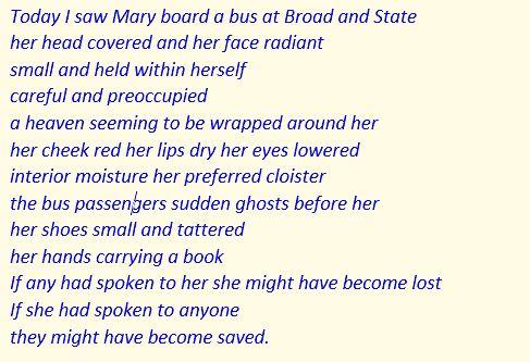 Mary Verse US